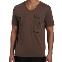 Kenneth Cole New York Men's Cargo Tee, Incense, X-Large