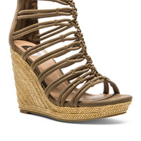 Tulsa Wedge in Taupe