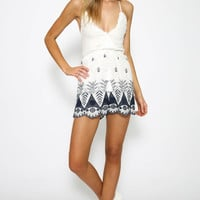 Zone One Playsuit - White