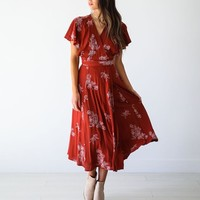 Kiki Wrap Dress - Luca + Grae