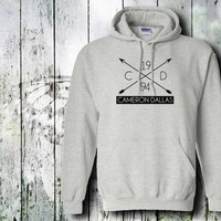cameron dallas 1994  hoodie unisex adult by gildan