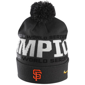 San Francisco Giants 2014 World Series Champions Cuff Knit Cap by Nike - MLB.com Shop