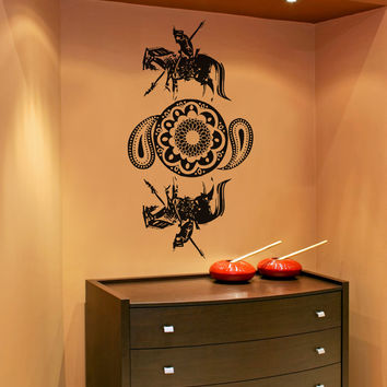Vinyl Wall Decal Sticker Arabic Horse Art #OS_AA338