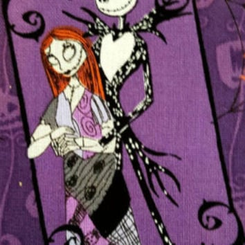 Disney - nightmare before Christmas - Springs creative - cotton - quilting - fabric