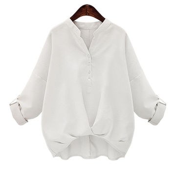Buttons Blouse for Ladies