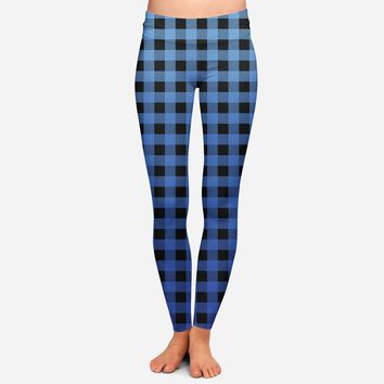 CLEARANCE Ombre Buffalo Check/Plaid Leggings (Exclusive)