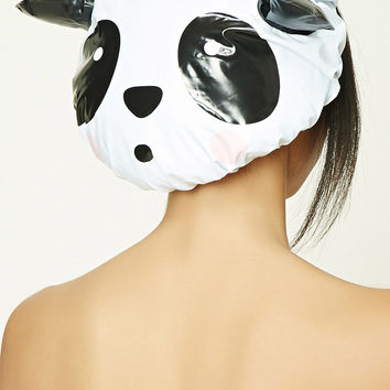 Panda Face Shower Cap