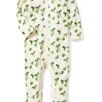 Clover-Print One-Piece for Baby | Old Navy