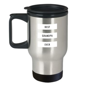 Best Grandpa Ever Father's Day Gift Travel Mug