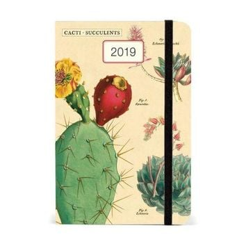 2019 Succulents Weekly Planner