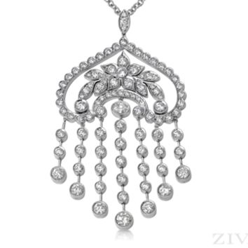 Ziva Art Deco Necklace