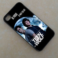 Derek Hale and Scott Mccall - for iPhone 4/4s - iPhone 5 - iPhone 5s - iphone 5c - Samsung S3 - Samsung S4