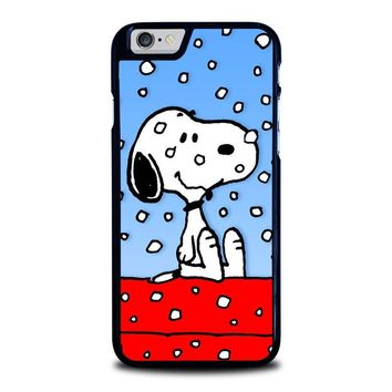 SNOOPY DOG CHRISTMAS iPhone 6 / 6S Case Cover