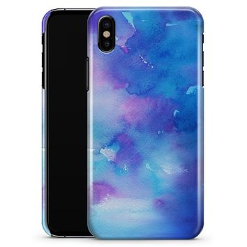 Washed 42290 Absorbed Watercolor Texture - iPhone X Clipit Case