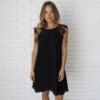 Enchanted Dress In Black