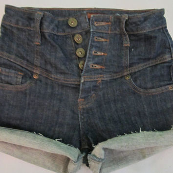 LIMITED EDITION: High Waisted Jean Shorts