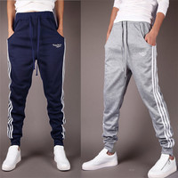 Stripes Men's Harem Style Joggers