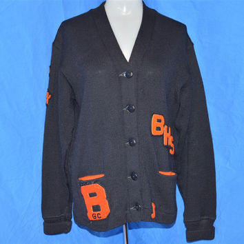 50s Bridgeport High School Letterman Women's Sweater Small