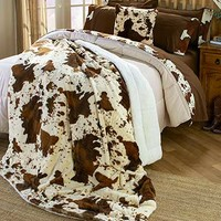 Rodeo Cowhide Bedroom Collection