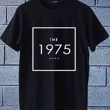 Hot Edition shirt on etsy the 1975 band logo available for t shirt mens and t shirt woman size S,M,L,XL,XXL