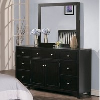 Homelegance 817-456 Caldwell Night Stand-Dresser-Mirror Package
