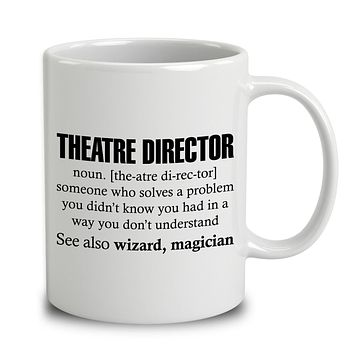 Theatre Director Someone Who Solves A Problem