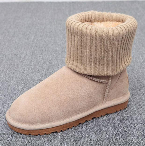 UGG Fashion Plush leather boots boots in from Simpleclothesv a7afe6840