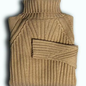 Cashmere Blend Chunky Knit Sweater