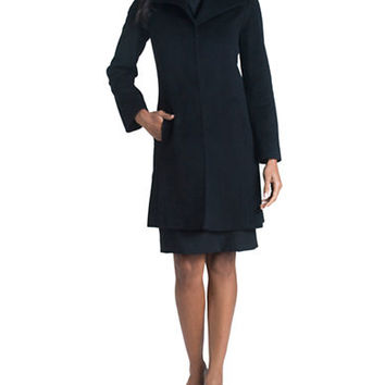 Fleurette Wing Collar Coat