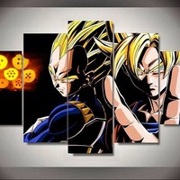 Animated Dragon Ball Wall Art