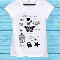 Tatto Harry Styles one direction for t shirt mens and t shirt girls