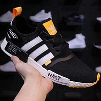 Adidas NMD x OFF WHITE men and women Gym shoes