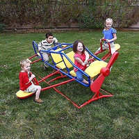 Kids Boys & Girls Flyer Teeter Totter Outdoor Airplane Playsets Power Rangers