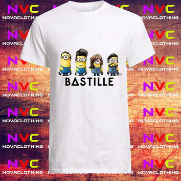 Minion Bastile  tshirt - Tshirt Unisex Adult, Tshirt Youth, kids clothes, Mens Tshirt, Womens Tshirt, Boys tshirt, Girls tshirt