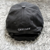 Crybaby back Baseball Hat