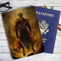 Dark Souls 3 Fire Leather Passport Wallet Case Cover