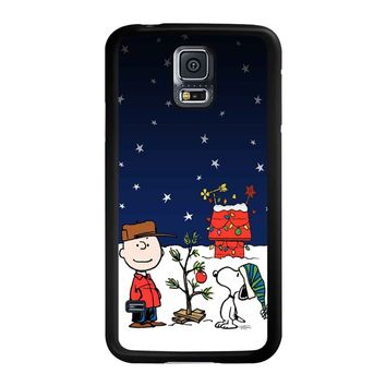 Charlie Brown Christmas Peanuts 001 Samsung Galaxy S5 Case
