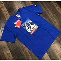 THE NORTH FACE & SUPREME joint models fashion short-sleeved shirt F-ZDL-STPFYF