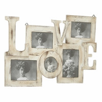 "Wood Wall Photo Frame 24""W 16""H"