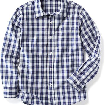 Old Navy Long Sleeve Button Front Shirt