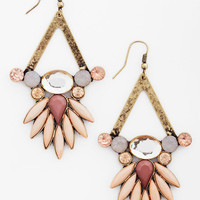 ModCloth Boho Neutral Luminance Earrings