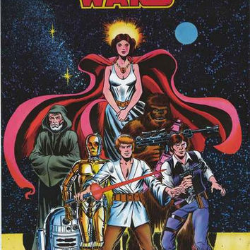 Star Wars Comic Book Poster 24x36