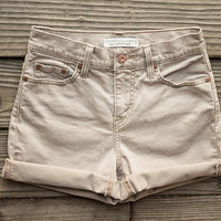 Tan High Waisted Levi's by TheOpSpot on Etsy
