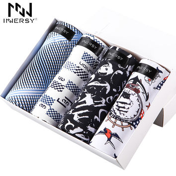 Shorts Men Underwear Boxers Icy Breathable Boxer Men Boxer Printed Short Boxers Ultra thin Underwear
