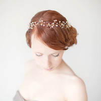 Untamed - Bridal Hair piece with Swarovski Crystals