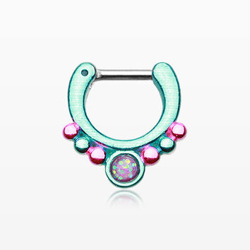 Colorline Opal Grandiose Septum Clicker