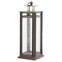 "31"" Table Lantern, Gray, Outdoor Lanterns"