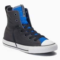 Converse Chuck Taylor All Star High-Top Sneakers for Boys (Grey)