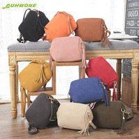 Womens Leather Satchel Shoulder Bag -10 Color Options-