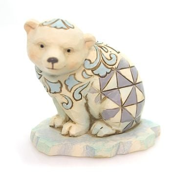 Jim Shore Polar Bear Mini Figurine